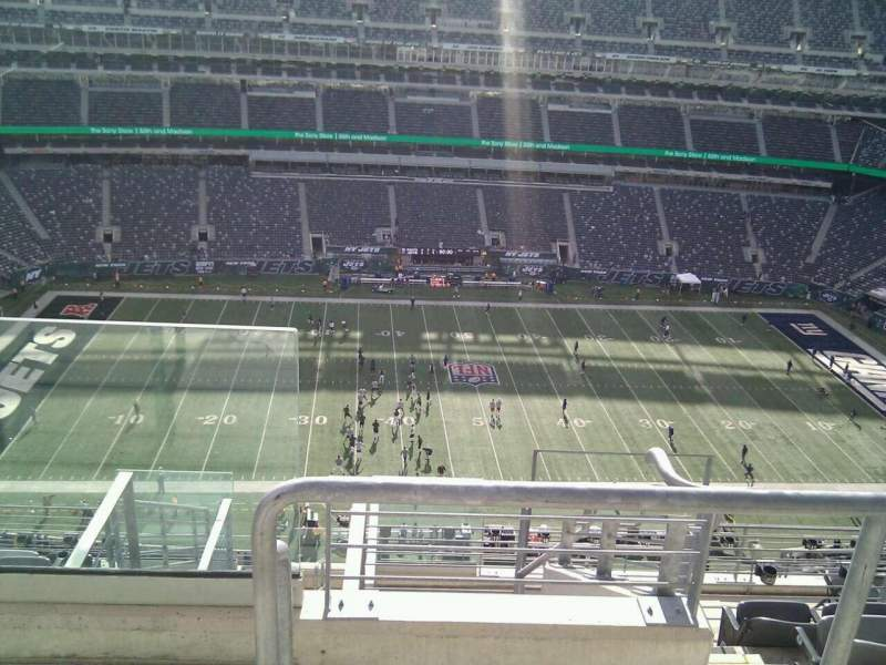 Seating view for MetLife Stadium Section 314 Row 13 Seat 27