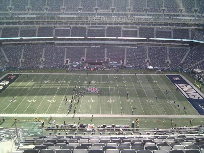 Seating view for MetLife Stadium Section 313 Row 16 Seat 18
