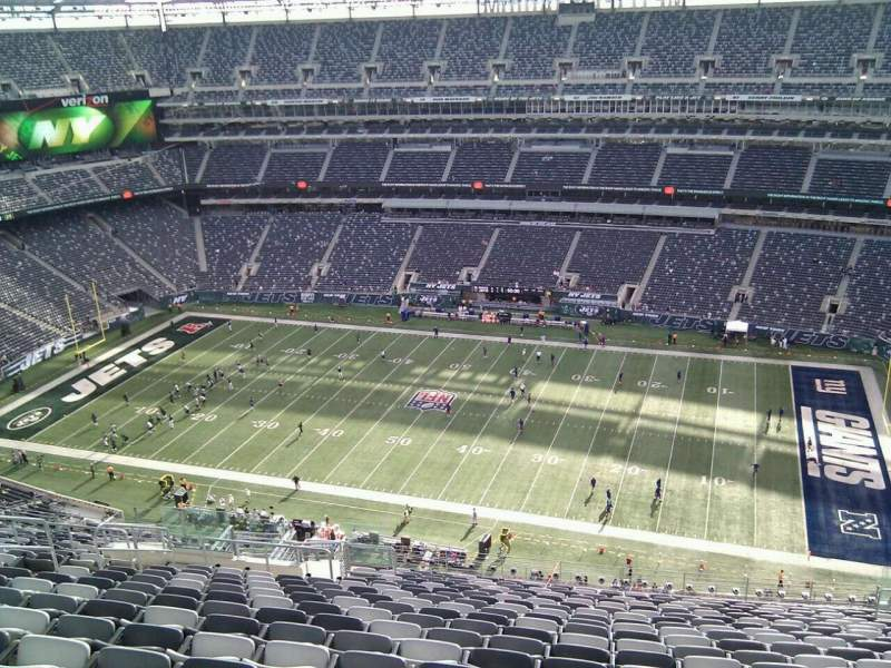 Seating view for MetLife Stadium Section 311 Row 26 Seat 15
