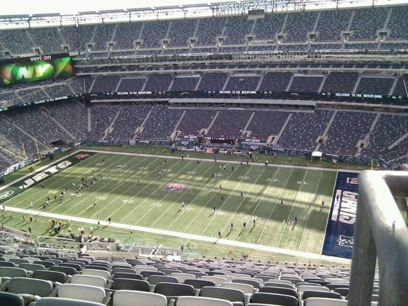 Seating view for MetLife Stadium Section 311 Row 24 Seat 15