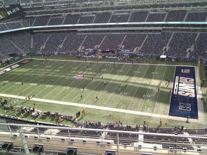 Seating view for MetLife Stadium Section 310 Row 7 Seat 13