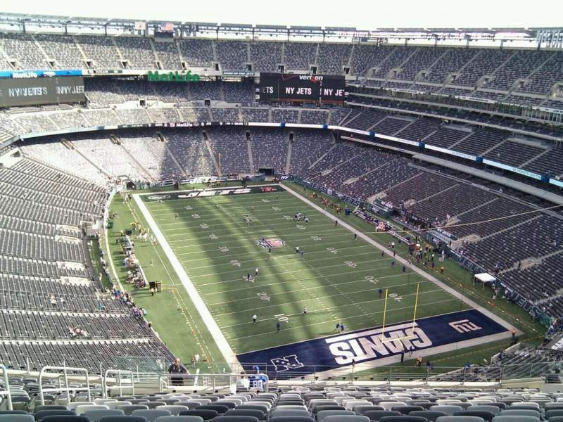 Seating view for MetLife Stadium Section 304 Row 25 Seat 23