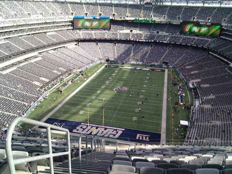 Seating view for MetLife Stadium Section 350 Row 24 Seat 29
