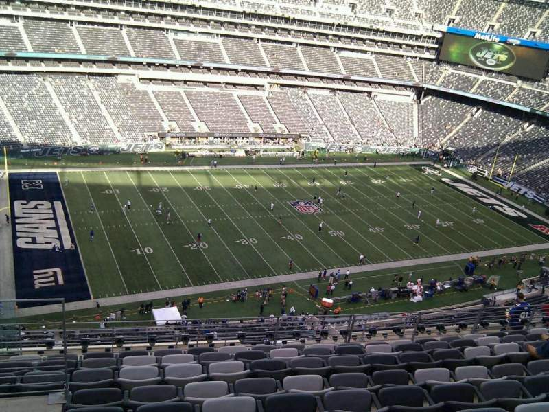 Seating view for MetLife Stadium Section 342 Row 13 Seat 22
