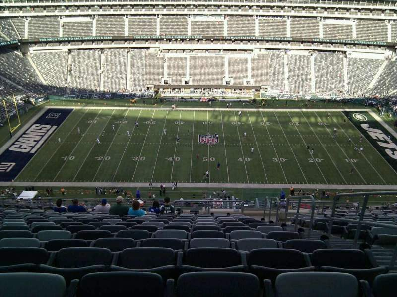 Seating view for MetLife Stadium Section 339 Row 23 Seat 3