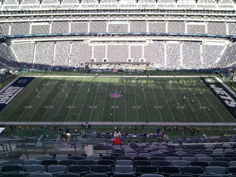 Seating view for MetLife Stadium Section 338 Row 19 Seat 23