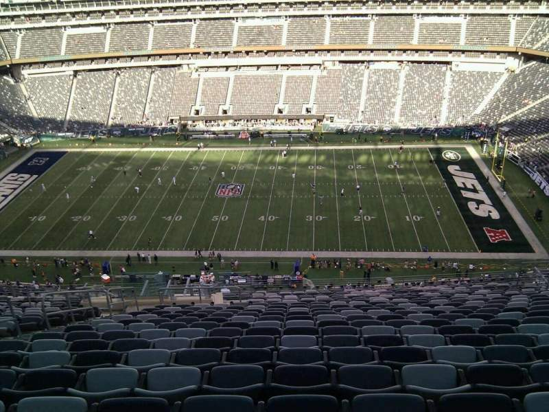 Seating view for MetLife Stadium Section 337 Row 25 Seat 21