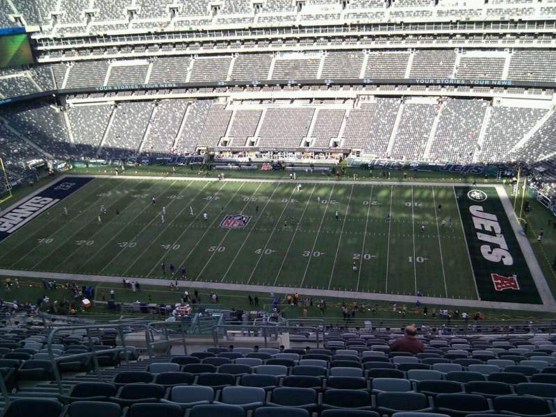 Seating view for MetLife Stadium Section 336 Row 22 Seat 23
