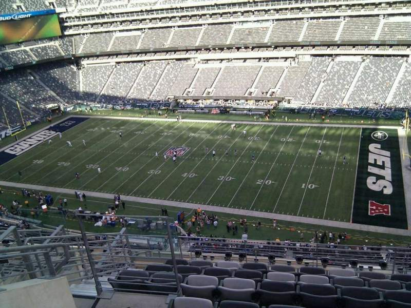 Seating view for MetLife Stadium Section 335 Row 12 Seat 20