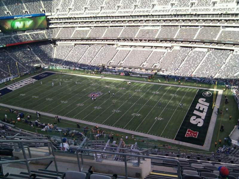 Seating view for MetLife Stadium Section 334 Row 16 Seat 23