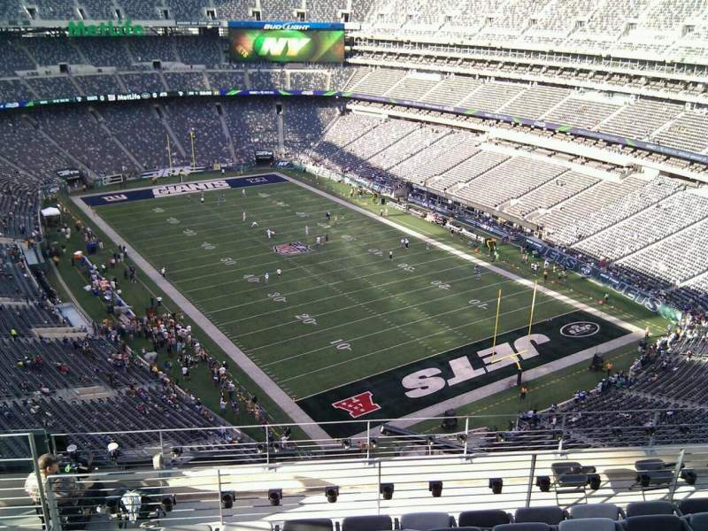 Seating view for MetLife Stadium Section 330 Row 14 Seat 18