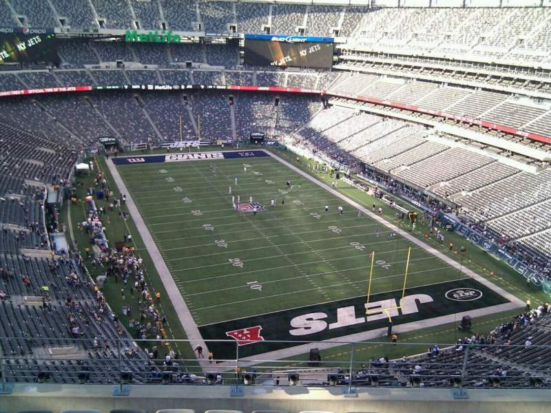 Seating view for MetLife Stadium Section 329 Row 11 Seat 12