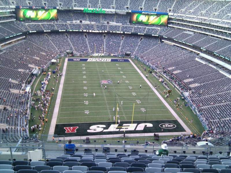 Seating view for MetLife Stadium Section 327 Row 19 Seat 19