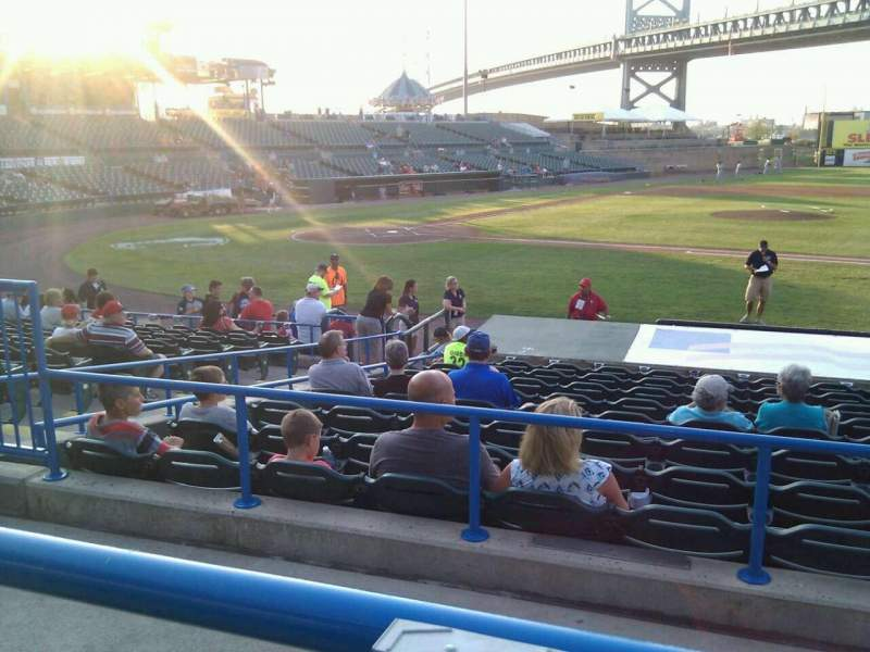 Seating view for Campbell's Field Section 204 Row m Seat 11
