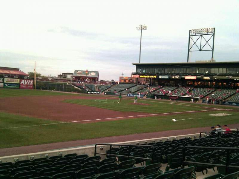 Seating view for Clipper Magazine Stadium Section 25 Row k Seat 8