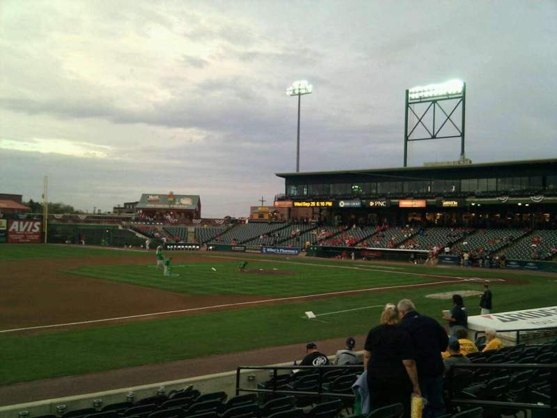 Seating view for Clipper Magazine Stadium Section 24 Row k Seat 8