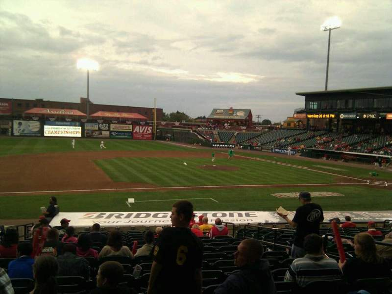 Seating view for Clipper Magazine Stadium Section 22 Row s Seat 6
