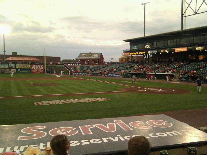 Seating view for Clipper Magazine Stadium Section 20 Row f Seat 7