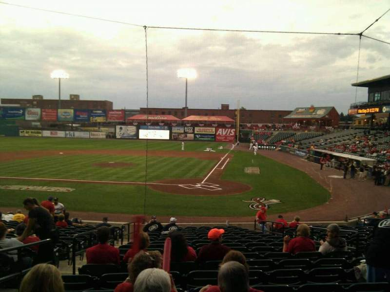 Seating view for Clipper Magazine Stadium Section 17 Row s Seat 7