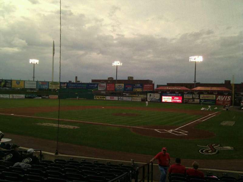 Seating view for Clipper Magazine Stadium Section 16 Row i Seat 11