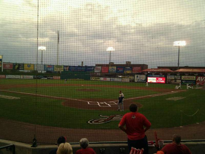 Seating view for Clipper Magazine Stadium Section 15 Row g Seat 6