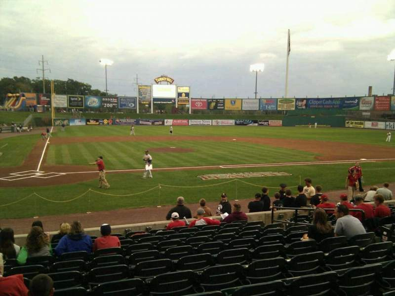Seating view for Clipper Magazine Stadium Section 11 Row l Seat 9