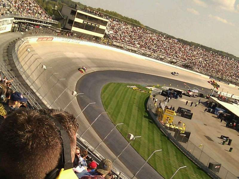 Seating view for Dover International Speedway Section 210 Row 19 Seat 13