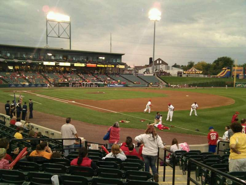 Seating view for Clipper Magazine Stadium Section 3 Row l Seat 2