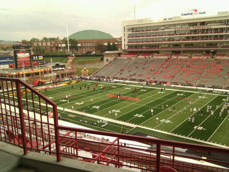 Maryland Stadium, section: 211, row: l, seat: 6