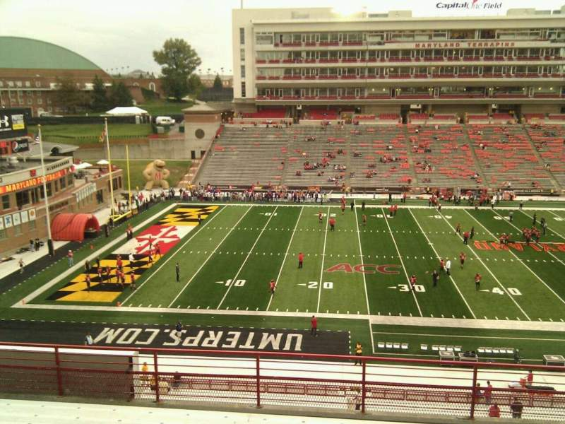 Maryland Stadium, section: 205, row: h, seat: 15