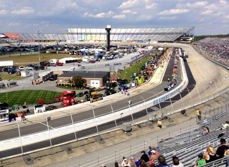 Seating view for Dover International Speedway Section 124 Row 22 Seat 7