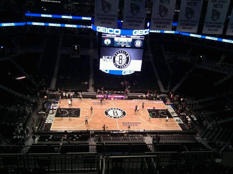 Seating view for Barclays Center Section 225 Row 13 Seat 13