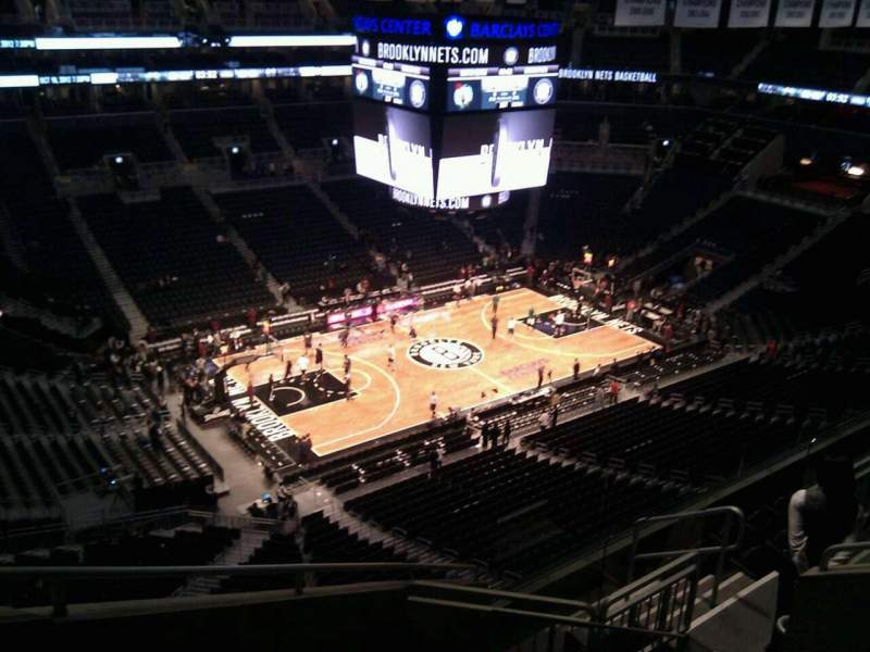 Seating view for Barclays Center Section 227 Row 8 Seat 11
