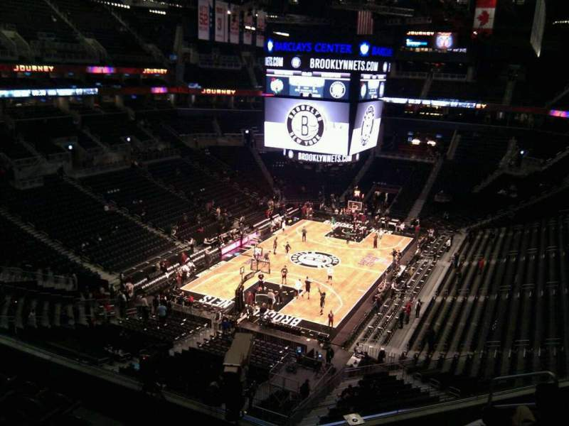 Seating view for Barclays Center Section 230 Row 7 Seat 8