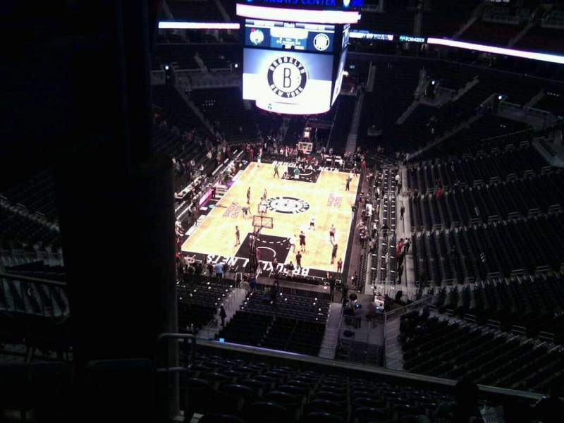 Seating view for Barclays Center Section 231 Row 12 Seat 6