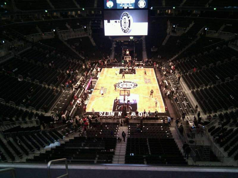 Seating view for Barclays Center Section 231 Row 6 Seat 25