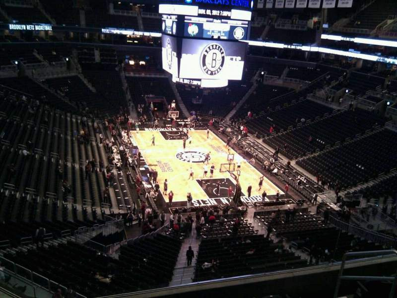 Seating view for Barclays Center Section 202 Row 6 Seat 6