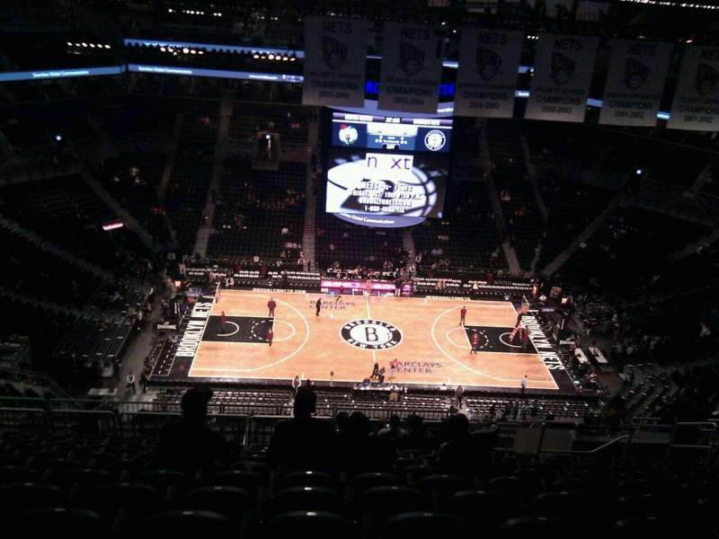 Seating view for Barclays Center Section 225 Row 17 Seat 10