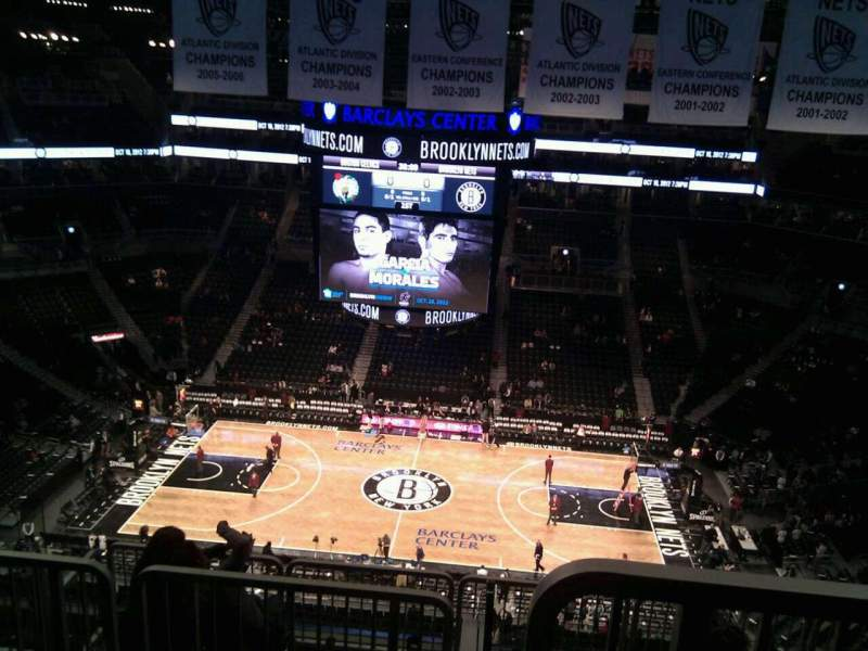 Seating view for Barclays Center Section 223 Row 8 Seat 18