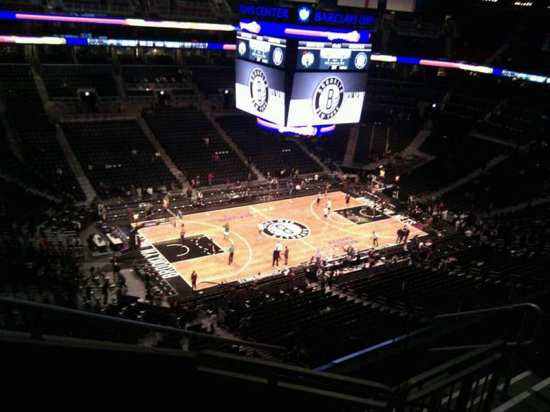 Seating view for Barclays Center Section 211 Row 3 Seat 5
