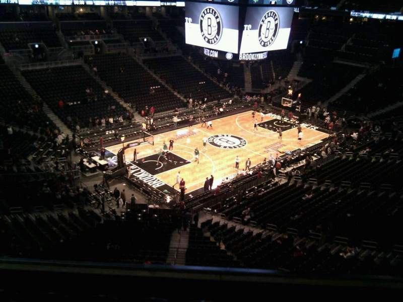 Seating view for Barclays Center Section 212 Row 5 Seat 17
