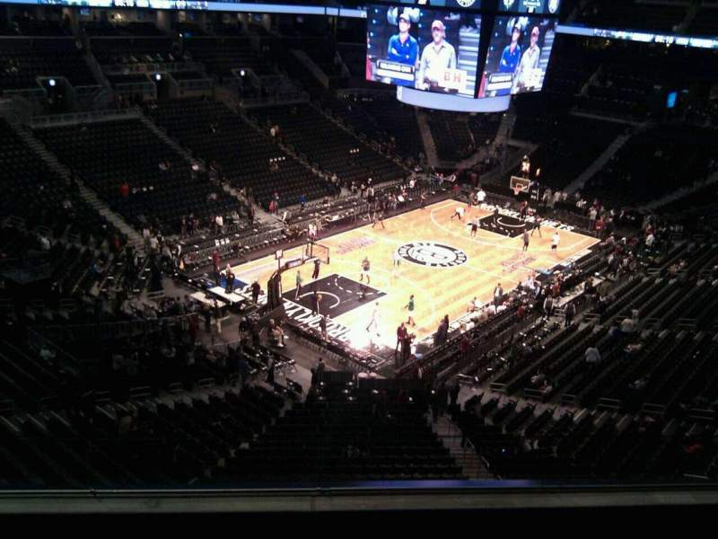 Seating view for Barclays Center Section 213 Row 4 Seat 8