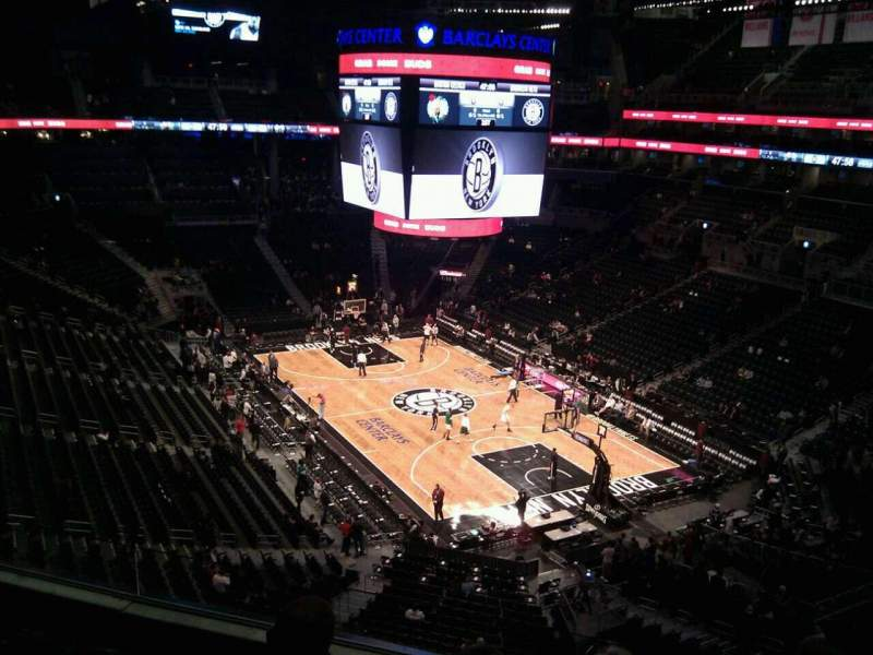 Seating view for Barclays Center Section 219 Row 5 Seat 8