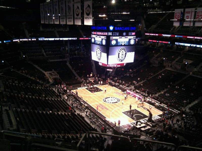 Seating view for Barclays Center Section 219 Row 12 Seat 11