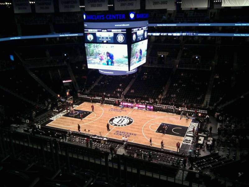 Seating view for Barclays Center Section 222 Row 6 Seat 10