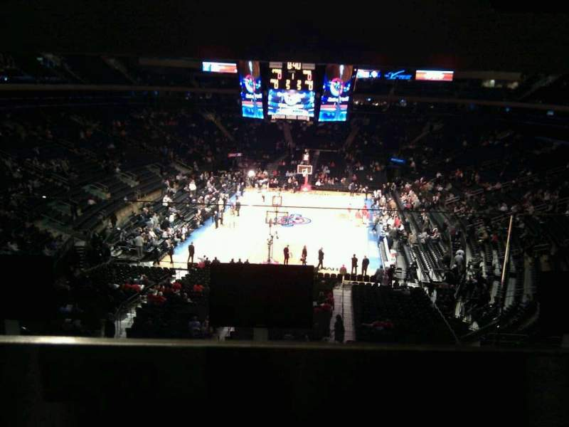 Seating view for Madison Square Garden Section 204 Row bar rail Seat 20