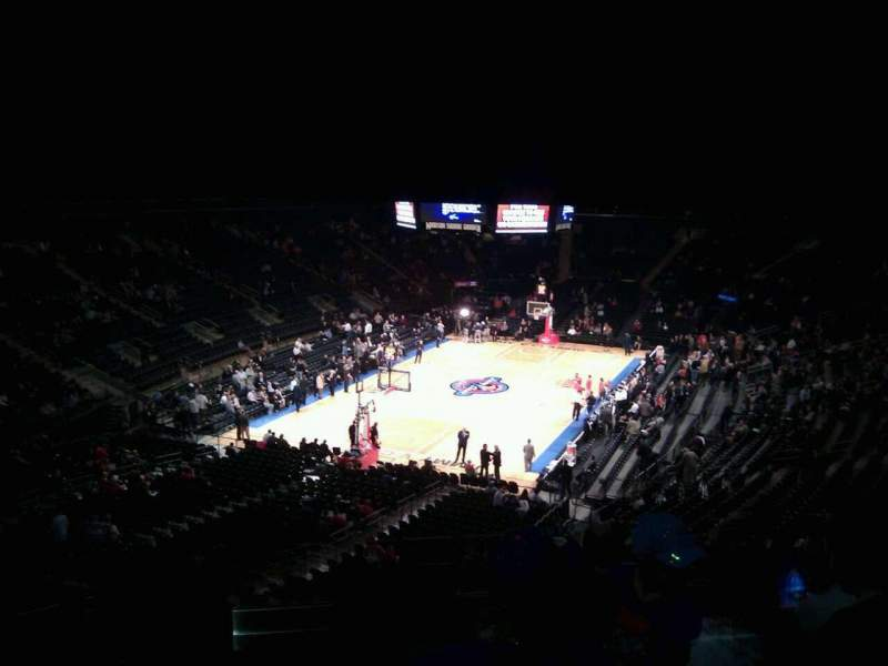 Seating view for Madison Square Garden Section 206 Row 5 Seat 3