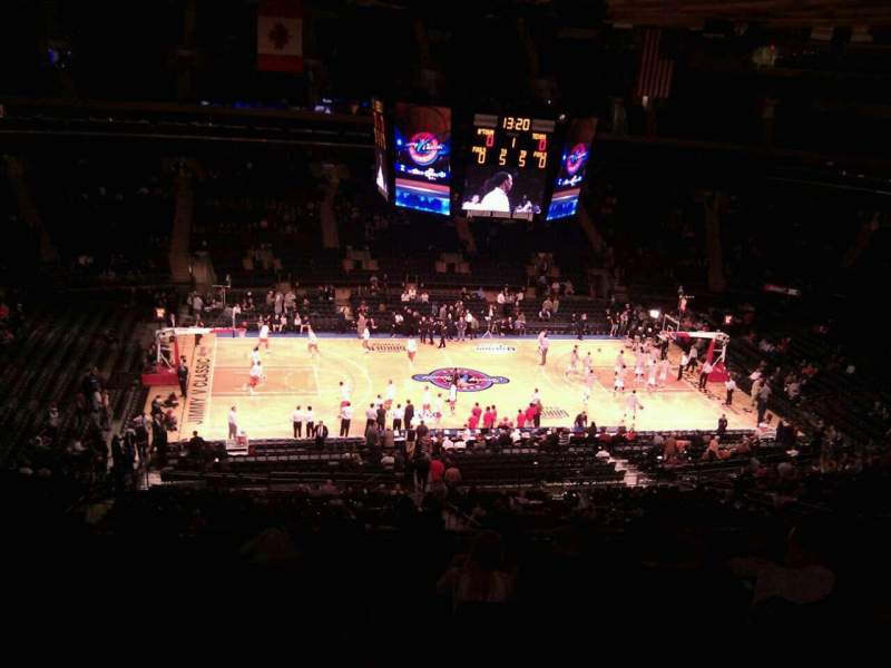 Madison Square Garden: Madison Square Garden, Section 210, Home Of New York