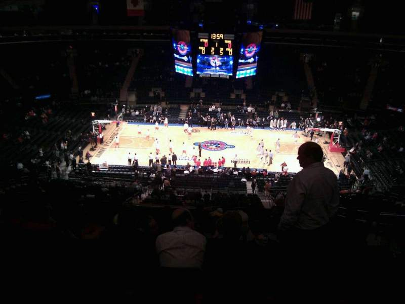 Seating view for Madison Square Garden Section 211 Row 17 Seat 15