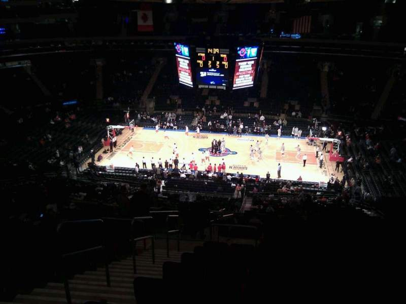 Madison Square Garden: Madison Square Garden, Section 212, Row 20, Seat 3